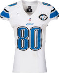 Football Collectibles:Uniforms, 2016 Anquan Boldin Game Worn, Unwashed Detroit Lions Jersey - Used 11/6 vs. Vikings....
