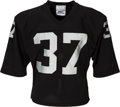 Football Collectibles:Uniforms, 1980-82 Lester Hayes Game Worn Raiders Jersey - With Team Repair!...