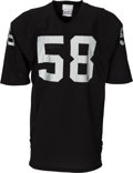 Football Collectibles:Uniforms, 1982-85 Jack Squirek Game Worn Los Angeles Raiders Jersey....
