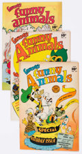 "Golden Age (1938-1955):Funny Animal, Funny Animals Group of 7 Davis Crippen (""D"" Copy) Pedigree (FawcettPublications, 1947-52) Condition: Average VF.... (Total: 7 ComicBooks)"