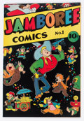 Golden Age (1938-1955):Funny Animal, Jamboree Comics #1 (Round, 1946) Condition: VF+....
