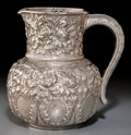 Silver Holloware, American:Pitchers, A Gorham Aesthetic Movement Silver Water Pitcher, Providence, RhodeIsland, 1884. Marks: (lion-anchor-G), STERLING, 1140, ...
