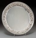 Silver Holloware, American:Plates, An S. Kirk & Son Silver Salver, Baltimore, Maryland, circa1932-1979. Marks: S. KIRK & SON, STERLING, 2322, HANDDECORATED...