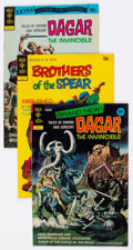 Bronze Age (1970-1979):Miscellaneous, Dagar the Invincible/Brothers of the Spear Group of (Gold Key,1970s) Condition: Average VF.... (Total: 34 Comic Books)