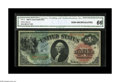 Large Size:Legal Tender Notes, Fr. 18 $1 1869 Legal Tender CGA Gem Uncirculated 66. The colors aresimply spectacular on this Rainbow Ace. The note is nice...
