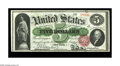 Large Size:Legal Tender Notes, Fr. 63a $5 1863 Legal Tender Superb Gem New. Spectacular deep,original embossing highlights this note that is not of a type...