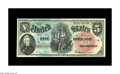 Large Size:Legal Tender Notes, Fr. 64 $5 1869 Legal Tender Gem New. A striking original note withgreat eye appeal as well as all the technical attributes ...