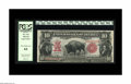 Large Size:Legal Tender Notes, Fr. 114 $10 1901 Legal Tender PCGS Very Choice New 64. Anattractive and evenly centered Bison with credentials attested to...
