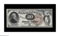 Large Size:Legal Tender Notes, Fr. 130 $20 1880 Legal Tender Very Fine-Extremely Fine. A handsome example of a very rare number. Of the eleven notes listed...
