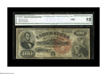 Large Size:Legal Tender Notes, Fr. 176 $100 1880 Legal Tender CGA Fine 15. A very rare number withonly about a dozen pieces known, none of which is uncirc...