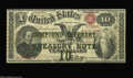 Large Size:Compound Interest Treasury Notes, Fr. 190b $10 1864 Compound Interest Treasury Note Very Fine. Alovely Very Fine with good color to the bronze, original pape...
