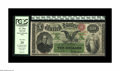 Large Size:Interest Bearing Notes, Fr. 196a $10 1863 Interest Bearing Note PCGS Very Fine 25. Four previous pedigrees appear on the PCGS holder for this handso...