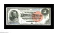 Large Size:Silver Certificates, Fr. 242 $2 1886 Silver Certificate New. A beautifully original Hancock Deuce with three wide margins and one just slightly n...