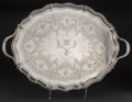 Silver & Vertu:Hollowware, A Henry Wilkinson Victorian Silver Tray, London, 1894. Marks: (lion passant), (leopard's head), HW&Co, T. 18-5/8 inches ...