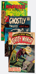 Silver Age (1956-1969):Horror, Charlton/ACG Silver Age Horror/Suspense Group of 74 (Charlton,1960s) Condition: VG/FN.... (Total: 74 Comic Books)