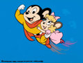 Animation Art:Presentation Cel, Mighty Mouse Publicity Cel (Filmation, 1980)...