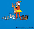 Animation Art:Presentation Cel, A Snow White Christmas Publicity Cel (Filmation, 1980) ...