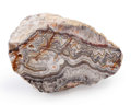 Lapidary Art:Carvings, Laguna Lace Agate. Mexico. 5.12 x 5.79 x 3.15 inches (13.00 x14.70 x 8.00 cm). ...