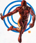Original Comic Art:Covers, Glenn Fabry Daredevil: The Target #1 Cover and Complete 22-Page Story Original Art (Marvel Knights, 2003).... (Total: 23 Original Art)