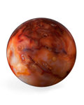 Lapidary Art:Eggs and Spheres, Carnelian Agate Sphere. Madagascar. 3.50 inches (8.89 cm) indiameter. ...