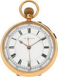 Timepieces:Pocket (pre 1900) , Lloyd, Payne & Amiel, Manchester, Massive English 18k GoldNon-Magnetic Center Seconds Pocket Watch, circa 1870. ...