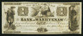 Obsoletes By State:Michigan, Ann Arbor, MI- Bank of Washtenaw $1 Mar. 9, 1836. ...