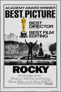 "Movie Posters:Academy Award Winners, Rocky & Other Lot (United Artists, 1977). One Sheets (2) (27"" X41"") Style B. Academy Award Winners.. ... (Total: 2 Items)"