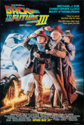 "Movie Posters:Science Fiction, Back to the Future Part III (Universal, 1990). One Sheet (26.75"" X 39.75"") DS Advance. Science Fiction.. ..."
