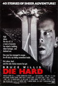 "Movie Posters:Action, Die Hard (20th Century Fox, 1988). One Sheet (27"" X 41""). Action....."