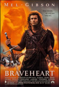 """Movie Posters:Action, Braveheart (Paramount, 1995). One Sheet (27"""" X 40"""") DS. Action.. ..."""