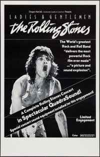 "Ladies and Gentlemen: The Rolling Stones & Other Lot (Dragon Aire, 1973). One Sheets (2) (24.25"" X 38"" &am..."