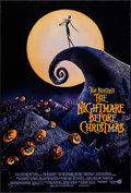 "Movie Posters:Animation, The Nightmare Before Christmas (Touchstone, 1993). One Sheet (27"" X 40"")DS. Animation.. ..."