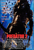 "Movie Posters:Science Fiction, Predator 2 (20th Century Fox, 1990). One Sheets (2) (27"" X 40""). DS Advance Thanksgiving and Christmas Styles. Science Ficti... (Total: 2 Items)"