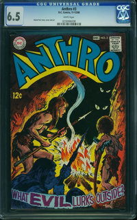 Anthro #3 (DC, 1968) CGC FN+ 6.5 White pages