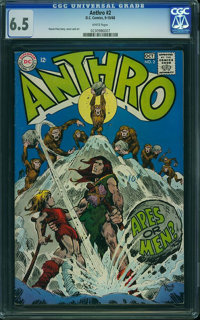 Anthro #2 (DC, 1968) CGC FN+ 6.5 White pages