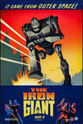 "Movie Posters:Animation, The Iron Giant (Warner Brothers, 1999). One Sheet (27"" X 41"") DS. Animation.. ..."