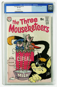 The Three Mouseketeers #2 (DC, 1970) CGC VF 8.0 Off-white pages