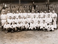 Baseball Collectibles:Photos, 1927 New York Yankees Team Original News Photograph, PSA/DNA Type1....