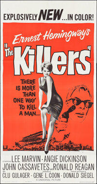 "The Killers (Universal, 1964). Three Sheet (41"" X 78.5""). Crime"