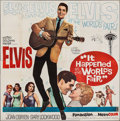 "Movie Posters:Elvis Presley, It Happened at the World's Fair (MGM, 1963). Six Sheet (78.5"" X79.25""). Elvis Presley.. ..."