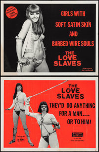 "Love Slaves (Savant, 1976). Posters (3) (20.5"" X 27""). Adult. ... (Total: 3 Items)"