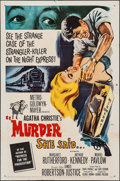 """Movie Posters:Mystery, Murder She Said (MGM, 1961). One Sheet (27"""" X 41""""). Mystery.. ..."""