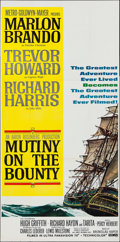 "Movie Posters:Adventure, Mutiny on the Bounty (MGM, 1962). Three Sheet (41"" X 83.5"").Adventure.. ..."