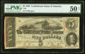 Confederate Notes:1863 Issues, T60 $5 1863 PF-13 Cr. 454.. ...