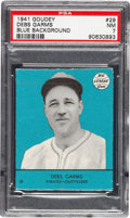 Baseball Cards:Singles (1940-1949), 1941 Goudey Debs Garms #29 PSA NM 7 - Pop One, None Higher....