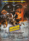 "Movie Posters:Science Fiction, The Empire Strikes Back (20th Century Fox, 1980). Spanish One Sheet(26.5"" X 38"") Style A. Science Fiction.. ..."