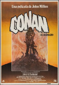 """Movie Posters:Action, Conan the Barbarian (20th Century Fox, 1982). Spanish One Sheet(27.5"""" X 39.5""""). Action.. ..."""