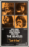 "Movie Posters:Rock and Roll, Let It Be (United Artists, 1971). Spanish Poster (12"" X 19.5"").Rock and Roll.. ..."