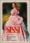 "Movie Posters:Foreign, Sissi: The Young Empress (Ghamartin, 1956). Spanish One Sheet (27.5"" X 39.5""). Foreign.. ..."