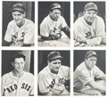 Baseball Cards:Sets, 1940 Boston Red Sox Team Picture Pack (25) - With 14 Autographed. ...